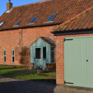 Chartwell green garage door