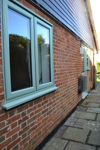 Superior Chartwell Green Windows in uPVC from First Home