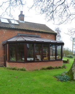 Rosewood Edwardian uPVC Conservatory From First Home Improvements