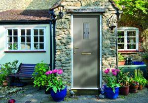 First Meridian Elm Composite Door in French Grey