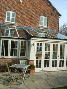Cream uPVC Lean to Conservatory
