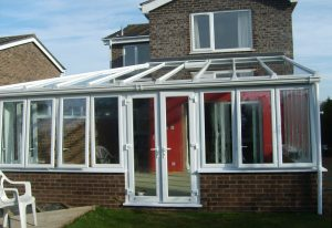 White Lean To uPVC Conservatories from First Home Improvements