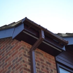 Rosewood Fascia, Soffit, Guttering and Cladding