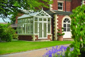 uPVC Conservatory Glass Extension