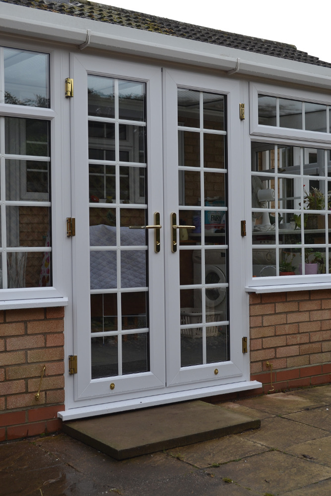 Upvc double glazed doors exterior front back door designs - Upvc double front exterior doors ...