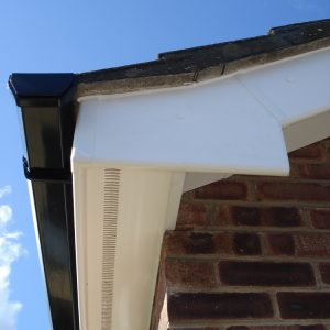 Guttering, downpipes, fascias, soffits and bargeboards